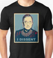 Notorious RBG I DISSENT Unisex T-Shirt