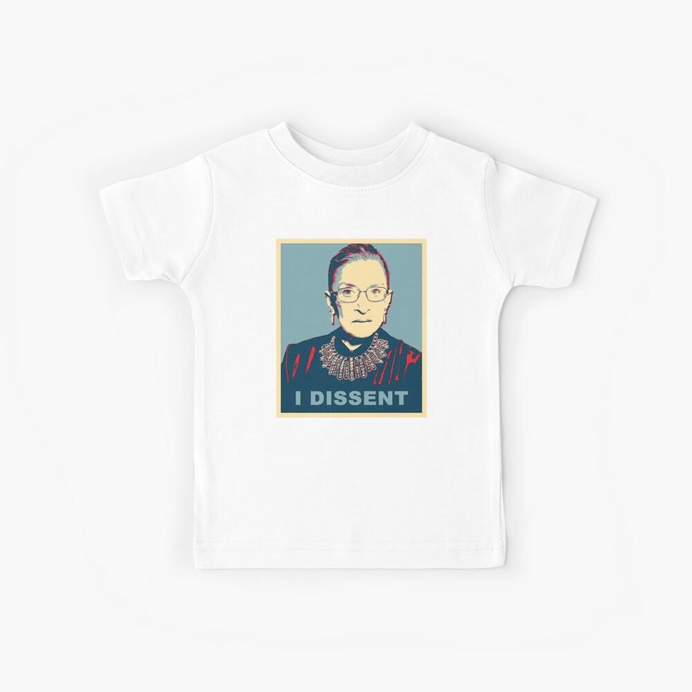 Notorious RBG I DISSENT Kids T-Shirt