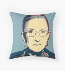 Notorious RBG I DISSENT Throw Pillow