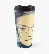 Notorious RBG I DISSENT Travel Mug