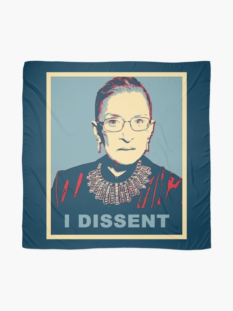 Alternate view of Notorious RBG I DISSENT Scarf