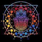 «Mano galáctica de Hamsa» de maryedenoa