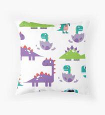 sweet dinosaur company Throw Pillow