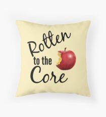 Rotten Throw Pillow