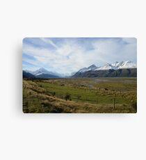 Scenic mountain landscape Canvas Print