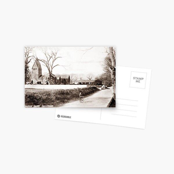 Ref: 36 - Sompting Church, Sompting, West Sussex. Postcard