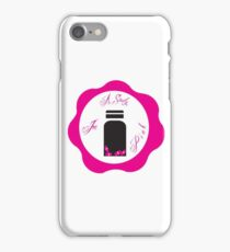 A Study in Pink 'Wax Seal' iPhone Case/Skin