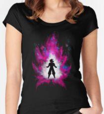 Super Saiyan God Goku Women's Fitted Scoop T-Shirt