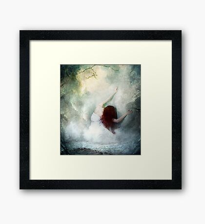 If Heaven Would Have Me Framed Print