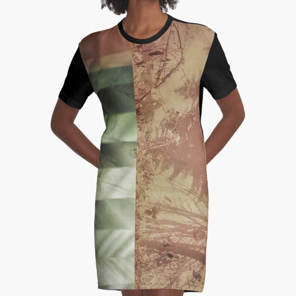 Winter Graphic T-Shirt Dress