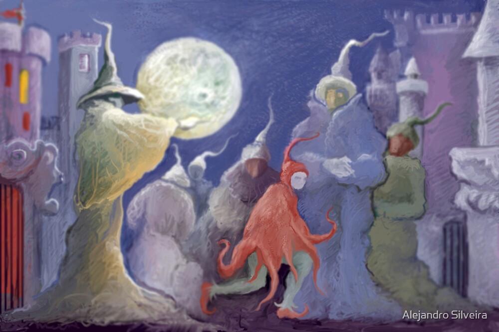 Walking the dreams by Alejandro Silveira
