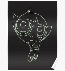 Buttercup Neon Powerpuff girls collection!  Poster