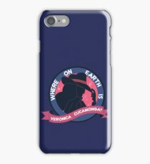 Where on Earth is Veronica Cucamonga? iPhone Case/Skin