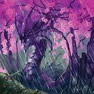 Sakura Dragon by piyastudios