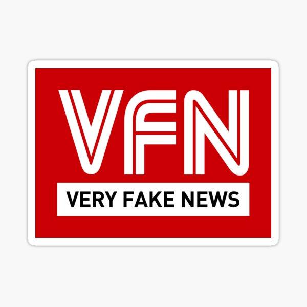 VFN - Very Fake News Sticker