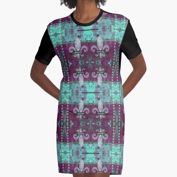 fleur de lis très chic Graphic T-Shirt Dress