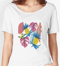 Pineapple + Jungle  Women's Relaxed Fit T-Shirt
