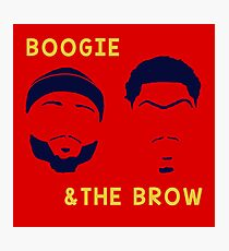 Boogie and The Brow Photographic Print
