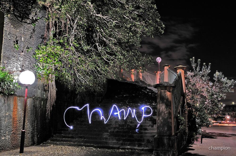 Virtual Graffiti by champion
