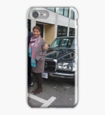 LIMO MERCEDES 300D W123 LONG WHEELBASE SEDAN COSTA RICA iPhone Case/Skin