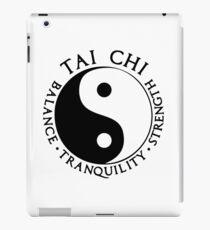Tai Chi - Balance - Tranquility - Strenght iPad Case/Skin