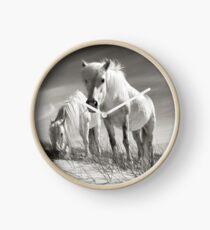 Horses of Luskentyre  Clock