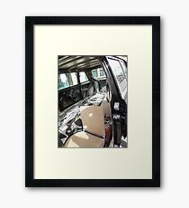 LIMO 300D W123 MERCEDES LONG WHEELBASE SEDAN COSTA RICA Framed Print