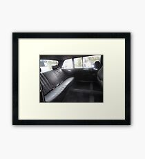 LIMO COSTA RICA MERCEDES W123 300D LONG WHEELBASE SEDAN Framed Print