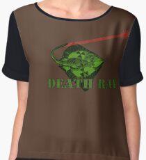 Death Ray Chiffon Top