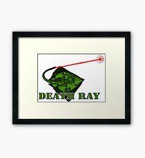 Death Ray Framed Print