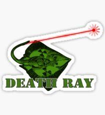 Death Ray Sticker