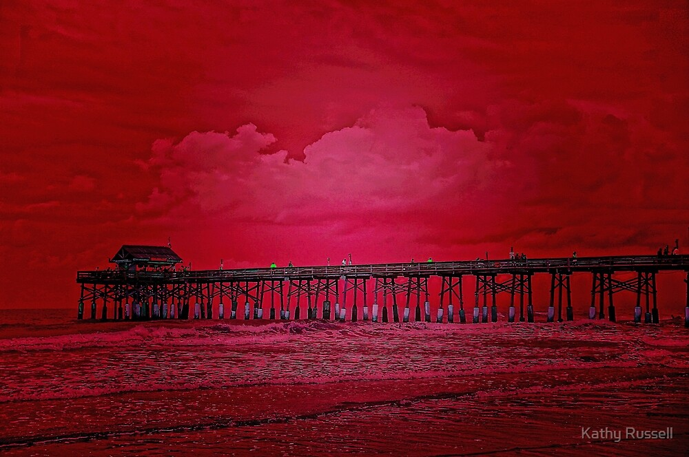 Pier Red by Kathy Russell