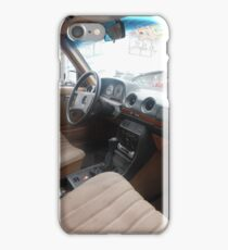 LIMO COSTA RICA 300D MERCEDES W123 LONG WHEELBASE SEDAN iPhone Case/Skin
