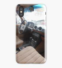 LIMO COSTA RICA 300D MERCEDES W123 LONG WHEELBASE SEDAN iPhone Case/Skin