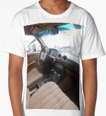 LIMO COSTA RICA 300D MERCEDES W123 LONG WHEELBASE SEDAN Long T-Shirt
