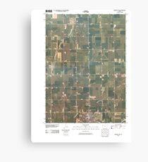 USGS TOPO Maps Iowa IA Orange City 20100428 TM Canvas Print
