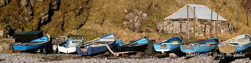 Cove Harbour, Aberdeen by Matthew Colvin de Valle