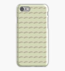 Fried Green Tomatoes Pattern iPhone Case/Skin