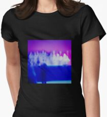 TIM HECKER LOVE STREAMS Womens Fitted T-Shirt