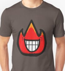 Smile-Smile the Fire Guy Unisex T-Shirt