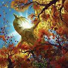 Autumn Dragon by piyastudios