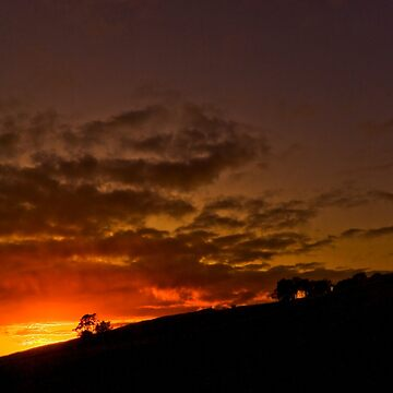 Sunset.... Over the Wall. by Billlee