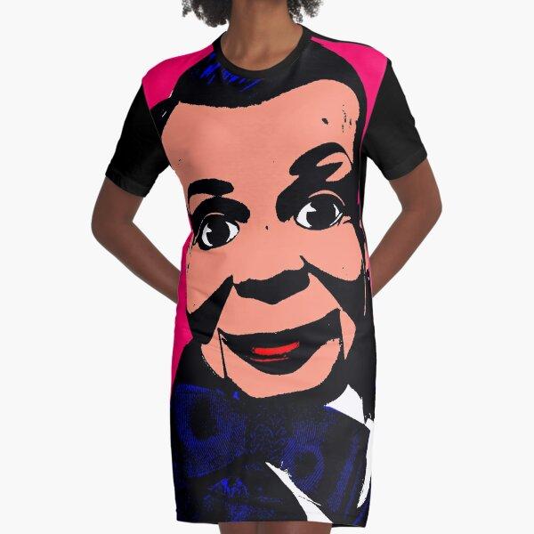VENTRILOQUIST DUMMY Graphic T-Shirt Dress