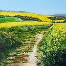 Springtime Yellow by Paula Oakley