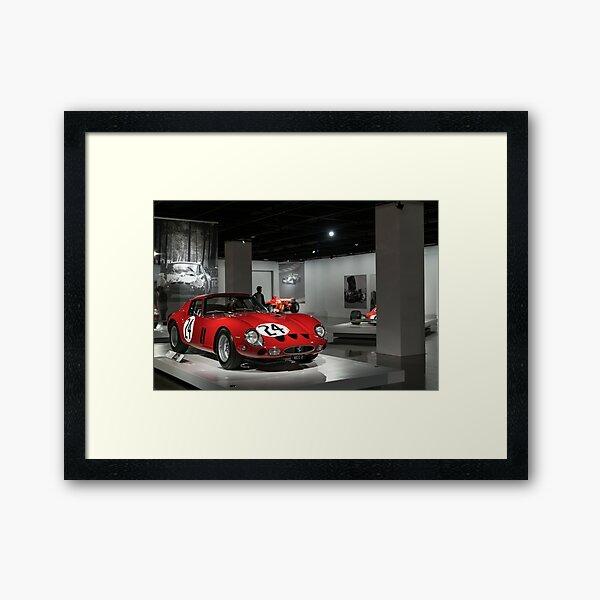 Ferrari 250 GTO Framed Art Print