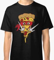 Red Ninja Pizza Classic T-Shirt