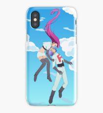 Team Rocket's Blasting Off Again! iPhone Case/Skin