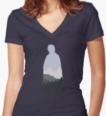Baggins! Women's Fitted V-Neck T-Shirt