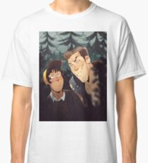 mitch and jonas behind the fence Classic T-Shirt