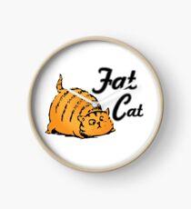 Fat Cat Clock